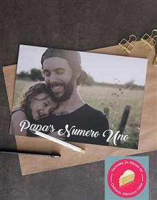 cards: Personalised Numero Uno Photo Card!