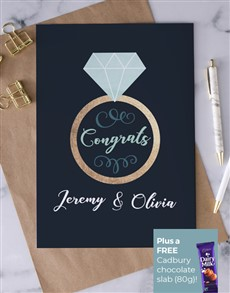 cards: Personalised Ring Engagement Card!