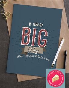 cards: Personalised Great Big Hug Card!