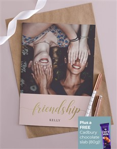 cards: Personalised Friendship Card!