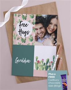 cards: Personalised Free Hugs Card!