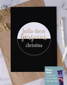 cards: Personalised Hello Gorgeous Card!