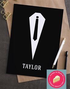 cards: Personalised Black Tie Greeting Card!