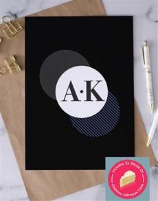 cards: Personalised Circle Pattern Greeting Card!