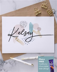 cards: Personalised Pattern Art Greeting Card!