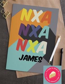 cards: Personalised Feeling Nxa Greeting Card!