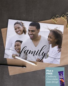 cards: Personalised Family Photo Card!