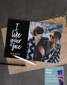 cards: Personalised Like Your Love Card!