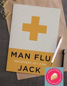 cards: Personalised Man Flu Card!