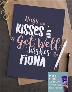 cards: Personalised Get Well Wishes Card!