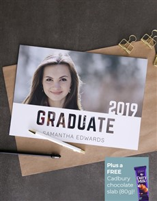 cards: Personalised Graduation Card!