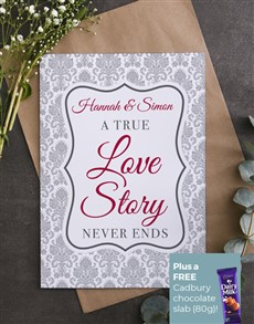 cards: Personalised Love Story Card!