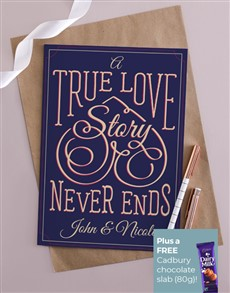 cards: Personalised True Love Story Card!