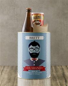 gifts: Personalised Husband Bro Bucket!