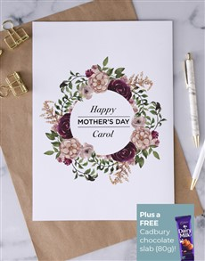 cards: Personalised Happy Moms Day Card!