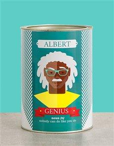 gifts: Personalised Genius Bro Bucket!
