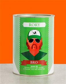 gifts: Personalised Bro Bro Bucket!
