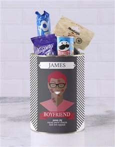 gifts: Personalised Boyfriend Bro Bucket!