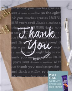 cards: Personalised Ways To Say Thank You Card!