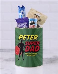 gifts: Personalised Superhero Father Bro Bucket!