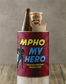 gifts: Personalised Super My Hero Bro Bucket!