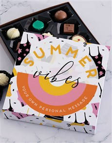 gifts: Personalised Summer Treat Chocolate Tray!