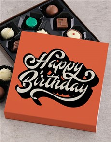 gifts: Personalised Birthday Delights Chocolate Tray!
