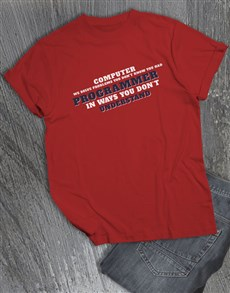 gifts: Personalised Problem Solver T Shirt!