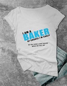 gifts: Personalised Sanity Ladies T Shirt!