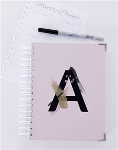 gifts: Personalised Paint Stroke Diary!