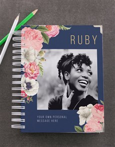 gifts: Personalised Peony Photo Diary!