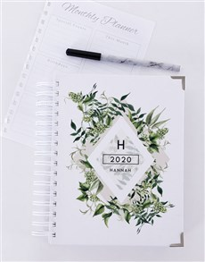 gifts: Personalised Leaf Diary!
