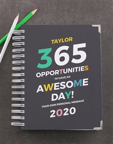gifts: Personalised Opportunities Diary!