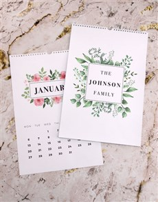 gifts: Personalised Lovely Leaves Photo Wall Calendar!