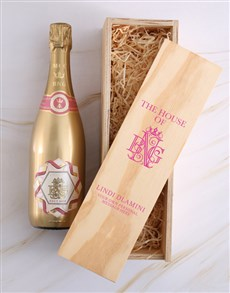 gifts: Personalised House of BNG Brut Rose Crate!