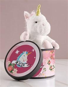 gifts: Personalised Unicorn Teddy!