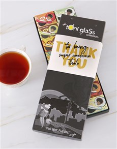 gifts: Personalised Thank You Toni Tea Set!