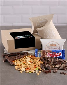 gifts: Personalised Neon Thank You Gourmet Box!