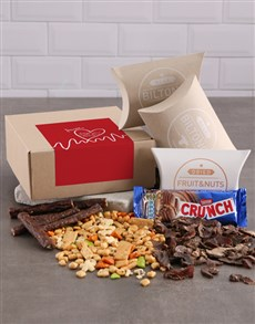 gifts: Personalised Heart Beat Gourmet Box!