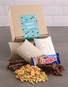 gifts: Personalised Thank You Polka Dot Gourmet Box!