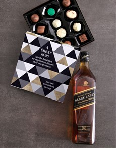 gifts: Personalised Greatness Alcohol Truffle Box!