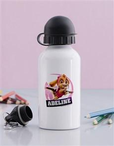 gifts:  Personalised Paw Patrol Skye Water Bottle!