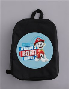 gifts: Personalised Born Brave Backpack!