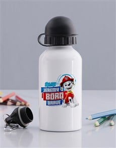 gifts: Personalised Born Brave Water Bottle!
