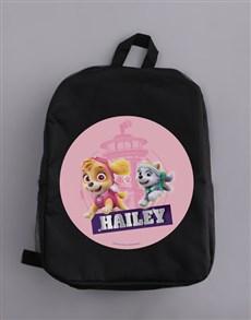 gifts: Personalised Skye Pup Backpack!