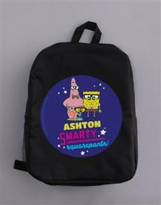 gifts: Personalised SquarePants Backpack!