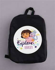 gifts: Personalised Explore Backpack!