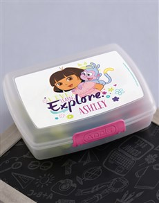 gifts: Personalised Explore Lunchbox!