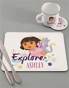 gifts: Personalised Explore Dinner Set!