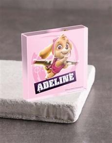 gifts: Personalised Skye Acrylic Block!